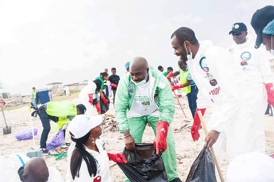 GreenHubAfrica Takes Action Towards Waste Pollution for World Cleanup Day and International Coastal Cleanup Day with LASEPA